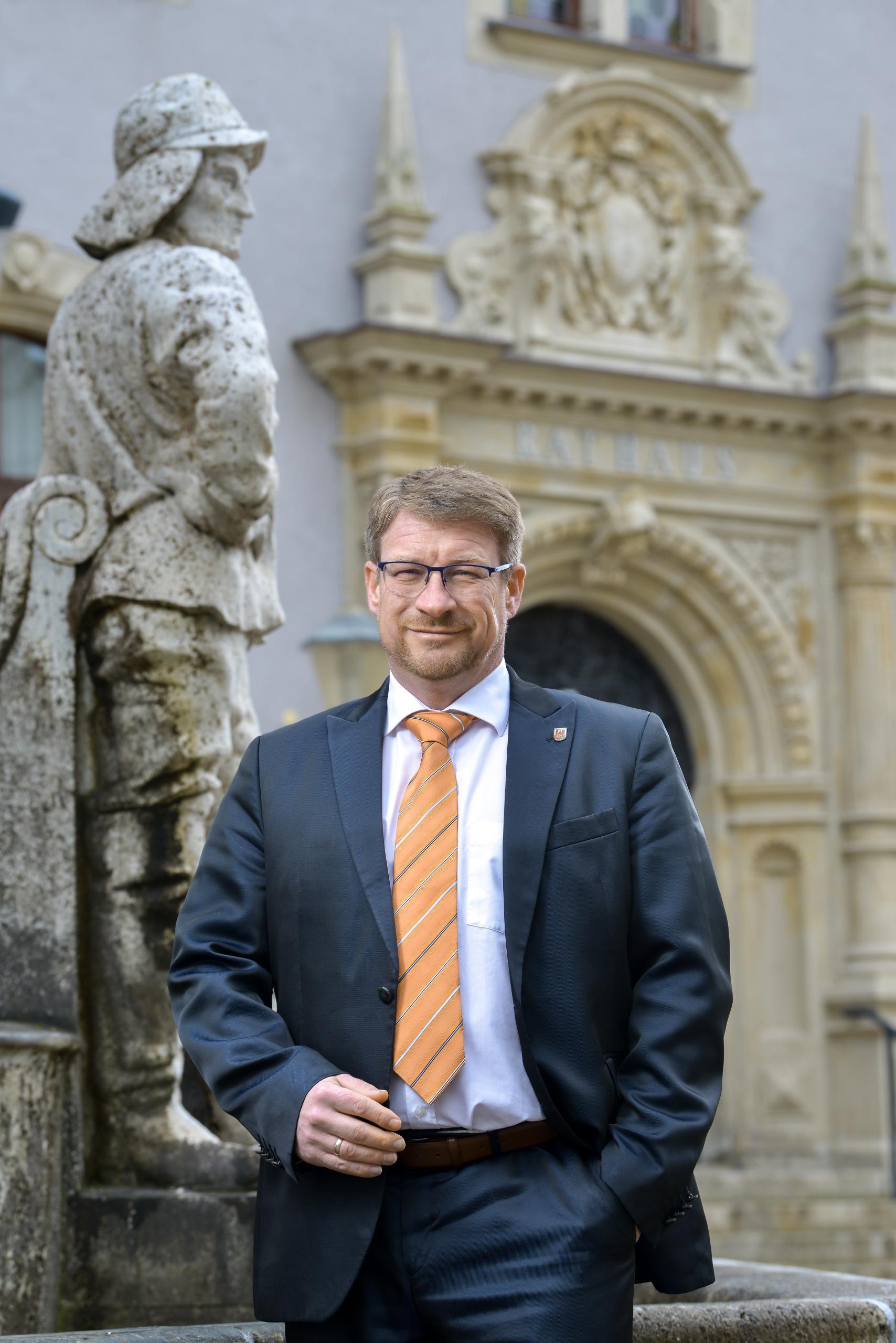 Schönebecks Oberbürgermeister Bert Knoblauch © Matthias Zander