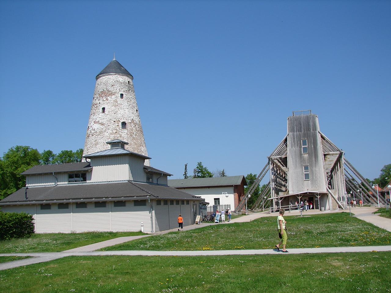 Soleturm, Kunsthof, Gradierwerk
