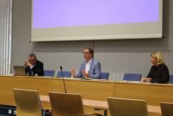 Foto v.l.n.r.: Thomas Michling, Markus Bauer, Andrea Schellenberger