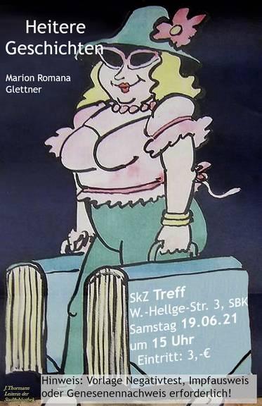 Plakat Ramona Glettner Treff ©SKZ Treff.