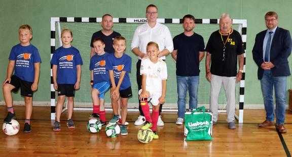 FußballtoreAGSchneiderSchule ©Stadt Schönebeck