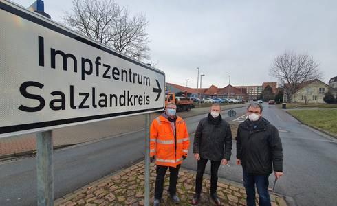 Impfzentrum0120 ©Salzlandkreis