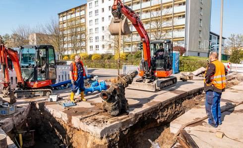 SWS Freigabe Friedrichstrasse WEB 1001 ©Stadtwerke Schönebeck GmbH