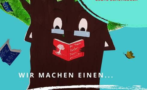 Ausstellungs Baum! Mein Lieblingsbuch ©Stadt Schönebeck