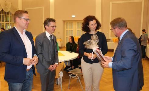 OB begrüßt Botschaftsrätin von Litauen